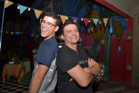 Luiz e Pepe Jordão. Crédito: Larissa Nunes / Divulgação