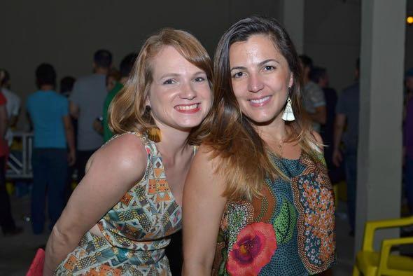 Natalia Kozminsky e Cecília Ramos. Crédito: