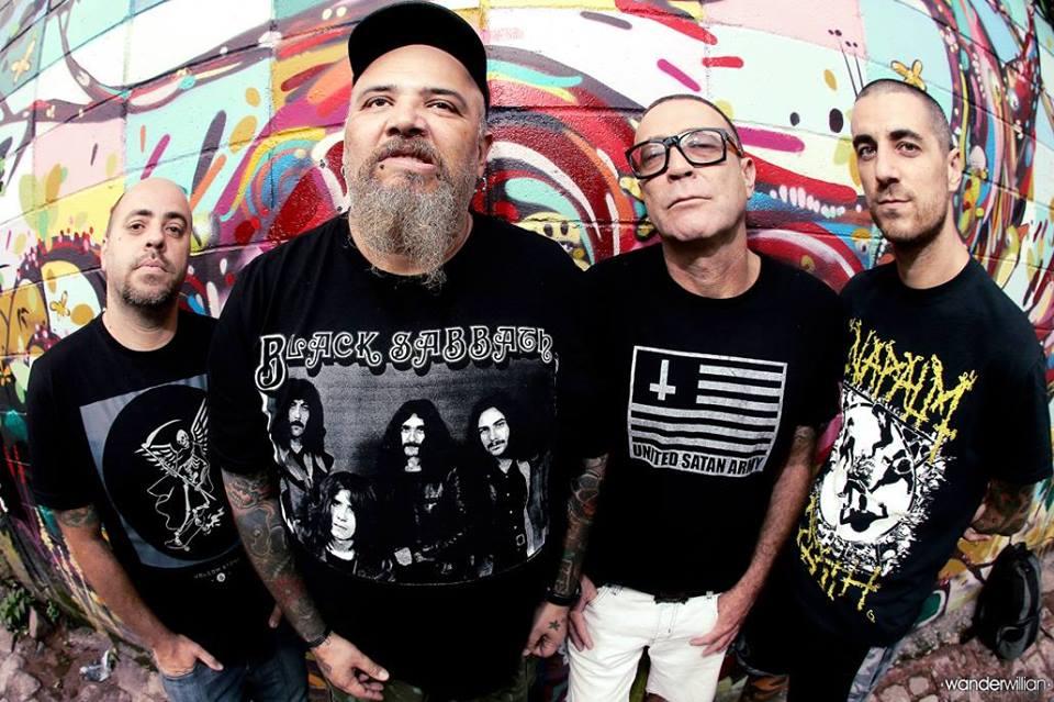 A banda paulista, Ratos do Porão, estará nos palcos do Abril Pro Rock, no dia 25 de abril. Crédito: Reprodução/Facebook