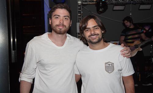 Igor Numeriano e Eduardo Freire - Crédito: Rafael Carvalho/Divulgação