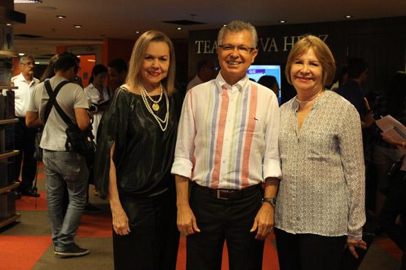 Joseli Lacerda, Elias Gomes e Terezinha Nunes. Crédito: Nando Chiappetta/DP/D.A Press