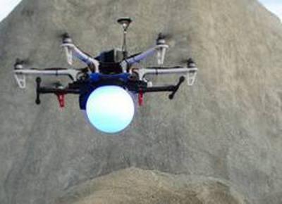 O drone da Paixão de Cristo