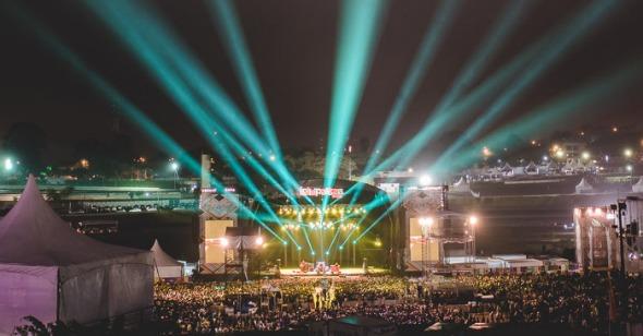Edição 2015 do Lollapalooza. Crédito: Reprodução Facebook