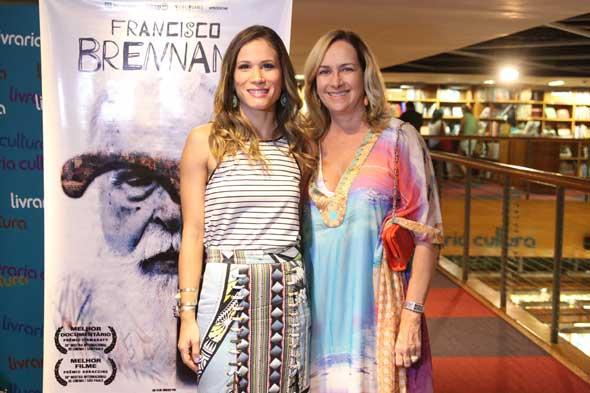 Mariana Brennand Fortes e Branca Brennand. Crédito: Nando Chiappetta/DP/D.A Press