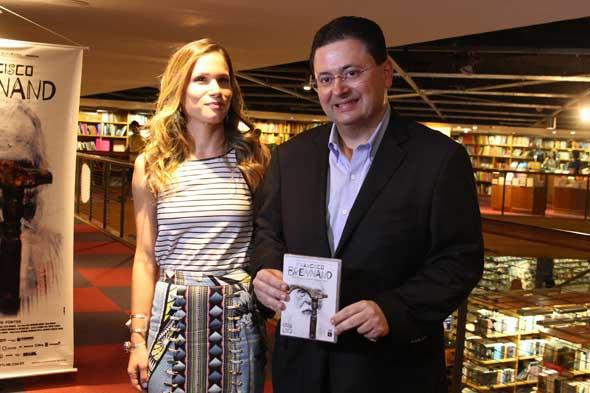 Mariana Brennand Fortes e Antônio Campos. Crédito: Nando Chiappetta/DP/D.A Press