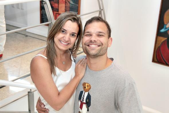 Juliana Cavalcanti e Bruno Alcântara - Crédito: Nando Chiappetta/DP/D.A Press