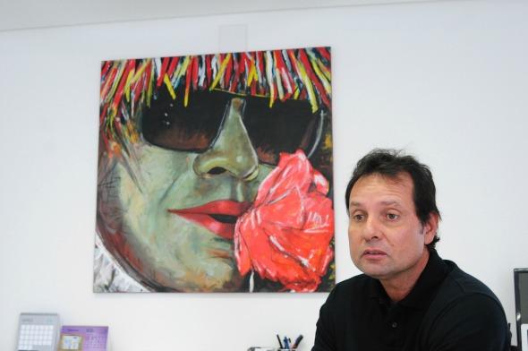 Mauri Cortez, diretor do SOS Mãos Recife - Crédito: Alcione Ferreira/DP/D.A Press
