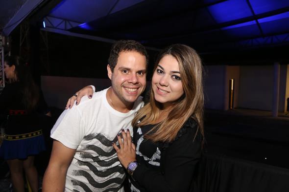Rodrigo Calazans e Beatriz Campos. Crédito: Humberto Reis