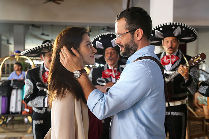 Cléo Pires e Malvino Salvador vão viver novamente o casal Tati e Conrando nas telonas.  Créditos: DIvulgação/ Globo Filmes