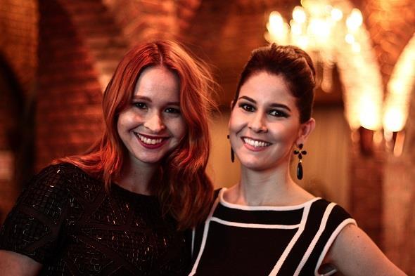 Aline Fav e Mila Moura. Crédito: Rachel Melo