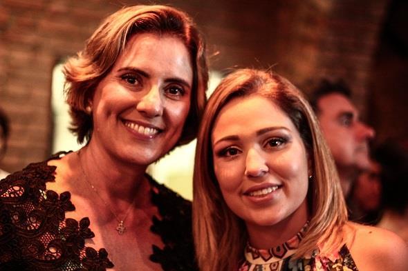 Roberta Imperiano e Alice Melo. Crédito: Rachel Melo