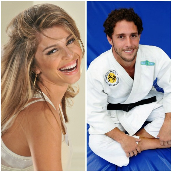 Segundo revista, Grazi e Flávio estão juntos há dois meses. Créditos: Reprodução internet
