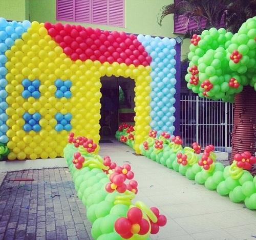 Foto ilustrativa de aniversário infantil Crédito: D´Arts Baloon / Divulgação