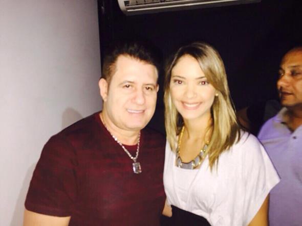 Marrone e Marcela Cavalcanti. Crédito: Vinícius Ramos