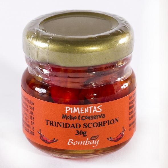 Trinidad Scorpion está no livro dos recordes como a pimenta mais forte do mundo. Crédito: Bombay / Divulgação