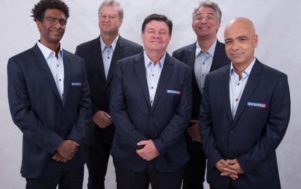 """Equipe do """"Casseta & Planeta"""". Crédito: Divulgação/TV Globo"""
