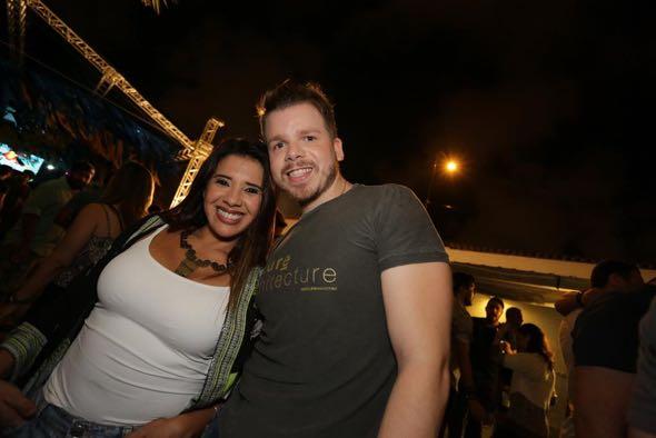 Ellen e Thiago Freitas. Crédito: Celo Silva / Divulgação