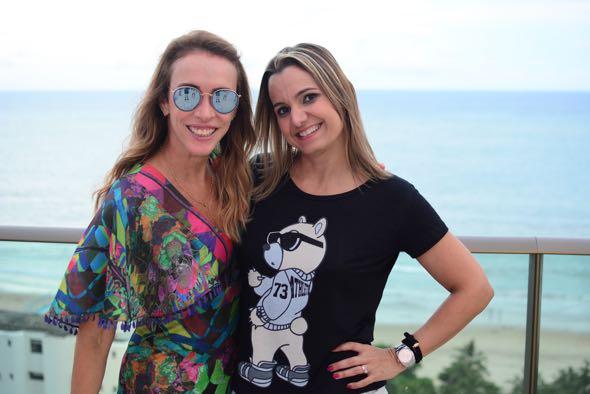Liza Carvalho e Ju Cavalcanti. Crédito: Gabriel Pontual / Divulgação