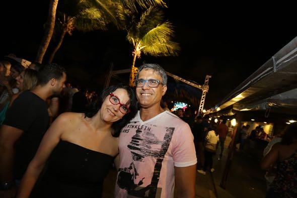 Márcia Souza e Kilder Alves. Crédito: Celo Silva / Divulgação
