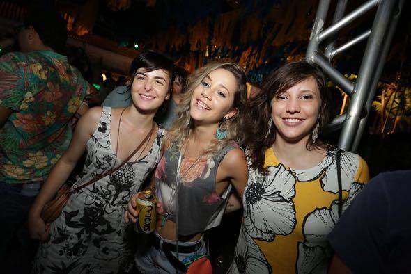 Maysa Aquino, Maira Ferrz e Lize Amorim. Crédito: Celo Silva / Divulgação