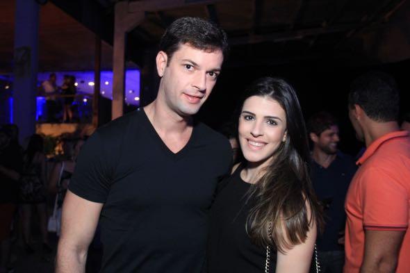 Ricardo Lapa e Maria Eduarda. Crédito: Luis Fabiano / DIvulgação