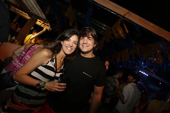 Wilson Grimaldi. e Bruna Valença. Crédito: Celo Silva / Divulgação