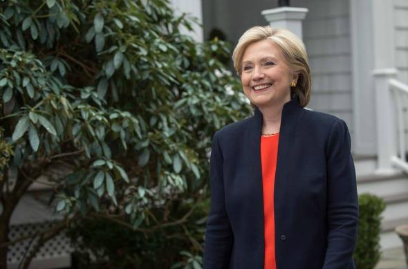 Hillary Clinton. Crédito: Reprodução Facebook