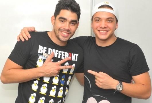 Wesley Safadão e Gabriel Diniz estão confirmados no evento. Créditos: Digulgação/ Moove Comunicação