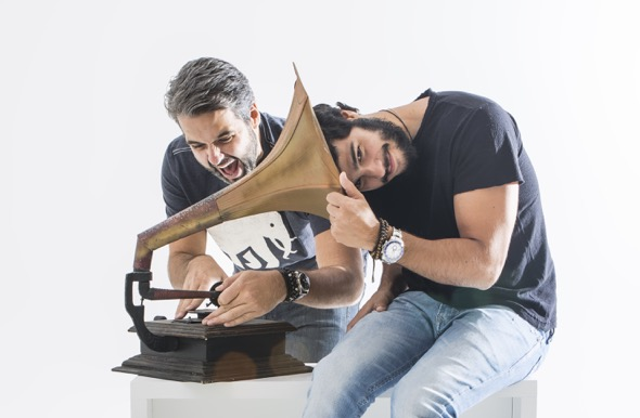 José Pinteiro e Bruno V vão tomar no palco Smash The House.  Créditos: Divulgação/ Moove Comunicação