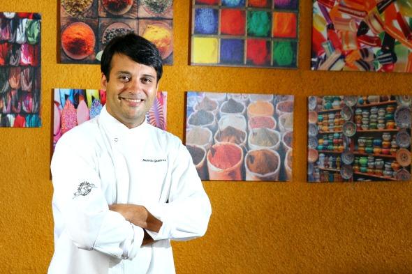 Chef Alcindo Queiroz - Crédito: Paulo Paiva/DP/D.A Press