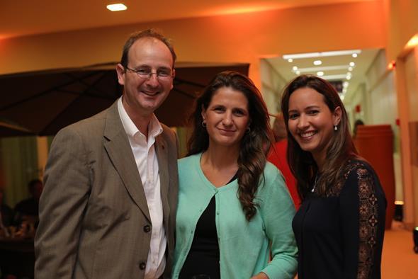 Guido Frank Stutz, Ana Laura e Luciana Souza. Crédito: Ricardo Nascimento
