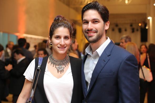 Helena e Alexandre Brennand. Crédito: Ricardo Nascimento