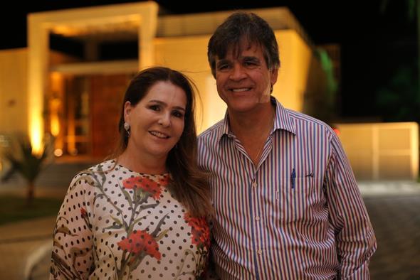 Telma e Jayme Brennand. Crédito: Ricardo Nascimento