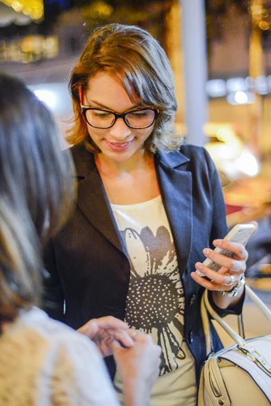 Blogueira Vivian Oliveira. Crédito: Greta Sophia