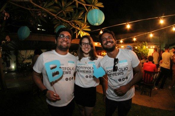 Luciano Alpes, Amanda Godoy e Diego de Luna. Créditos: Divulgação do evento