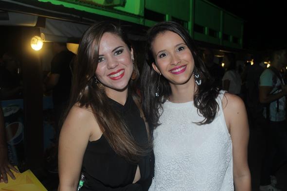 Clelia Mariano e Marina Tavares Créditos:  Vinicius Ramos/Vagalume Comunicação.