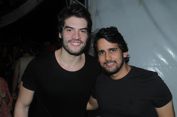 Rafael Furtado e Paulo Labanca Créditos:  Vinicius Ramos/Vagalume Comunicação.