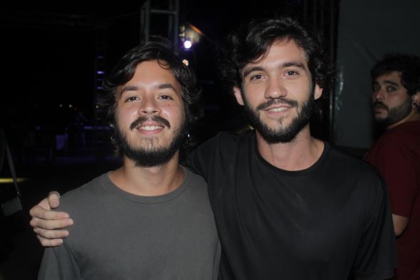 Rafael de Queiroz e Francisco Créditos:  Vinicius Ramos/Vagalume Comunicação.