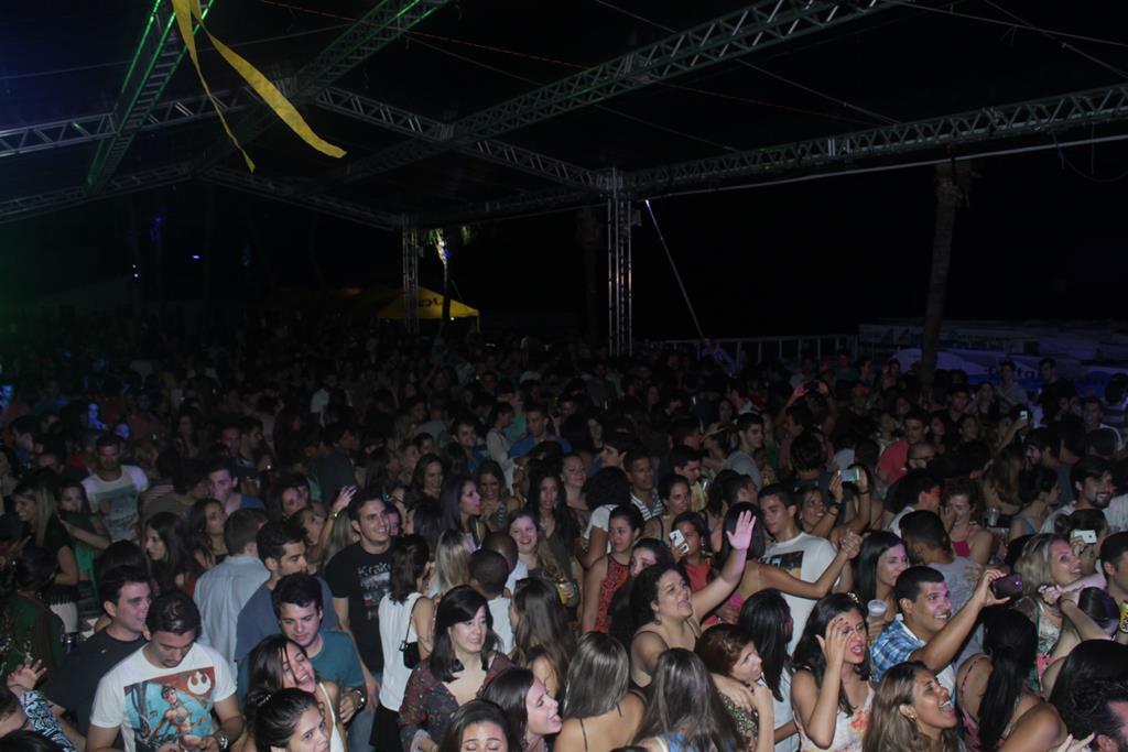 Público lotou o Catamaran para acompanhar de perto o Lollapaliso. Créditos:  Vinicius Ramos/Vagalume Comunicação.