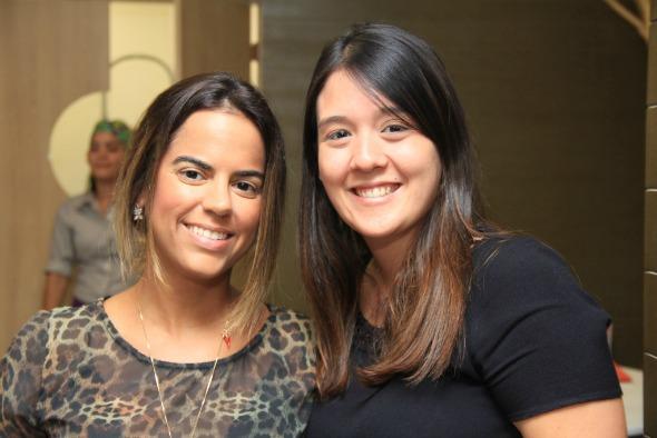 Manuella Tenório e Mayumi Kudo.  Créditos: Luiz Fabiano/ Divulgação