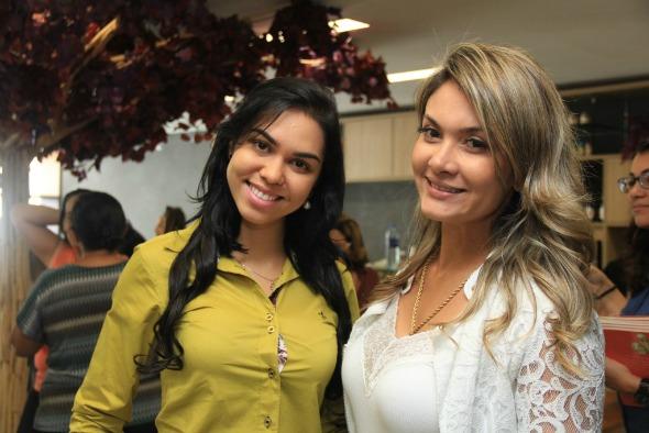 Thatiana Cavalcanti e Barbara Duque Créditos: Luiz Fabiano/ Divulgação