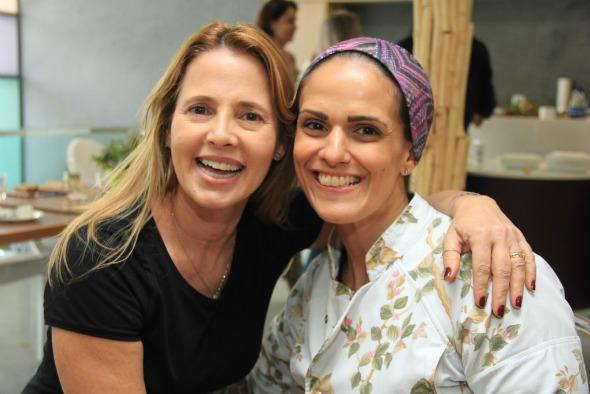 Virginia Campos e Lidiane Barbosa Créditos: Luiz Fabiano/ Divulgação