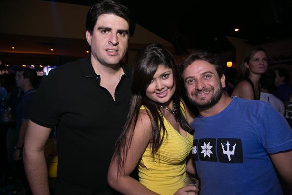 Rodrigo Barros, Thaise Cunha e Alexandre Catão. Crédito: Humberto Reis