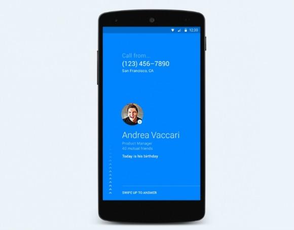 """Interface do app """"Hello"""" do Facebook. Crédito: Reprodução"""