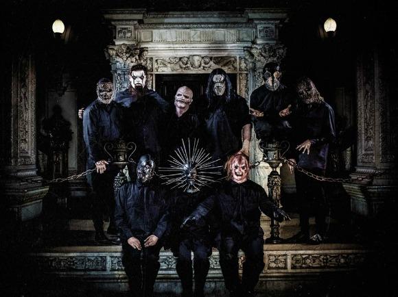Slipknot. Crédito: Reprodução Facebook