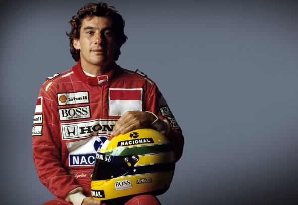 Ayrton Senna - Crédito: Norio Koike/Divulgação