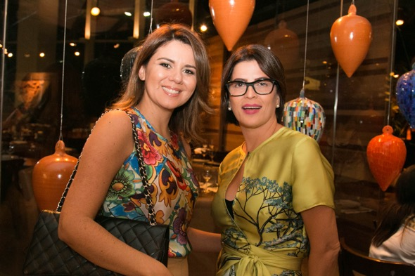 Mary Mansur e Carla Bensoussan - Crédito: Tatiana Sotero/DP/D.A Press