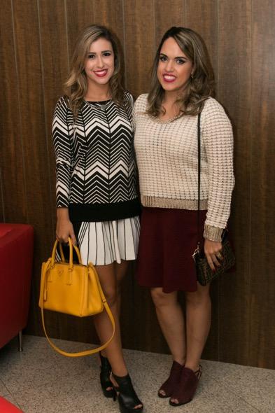 Dany Khadydja e Raphaella Torres - Crédito: Tatiana Sotero/DP/D.A Press