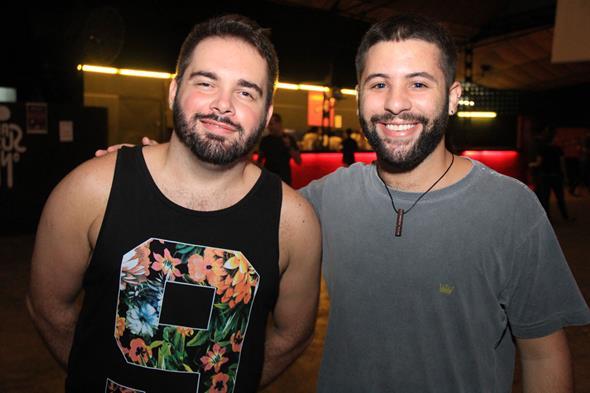 Daniel Cruz e Caio Remigio Créditos: Luiz Fabiano/ Comunnik