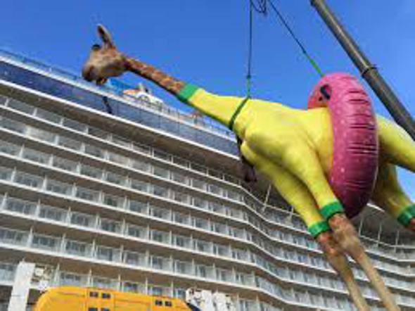 A imensa girafa
